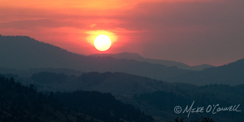 Fiery Bozeman Sunrise